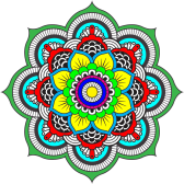 Colour Mandala